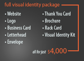 visual identity price packages