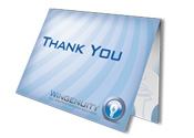 Wingenuity Thank You Card